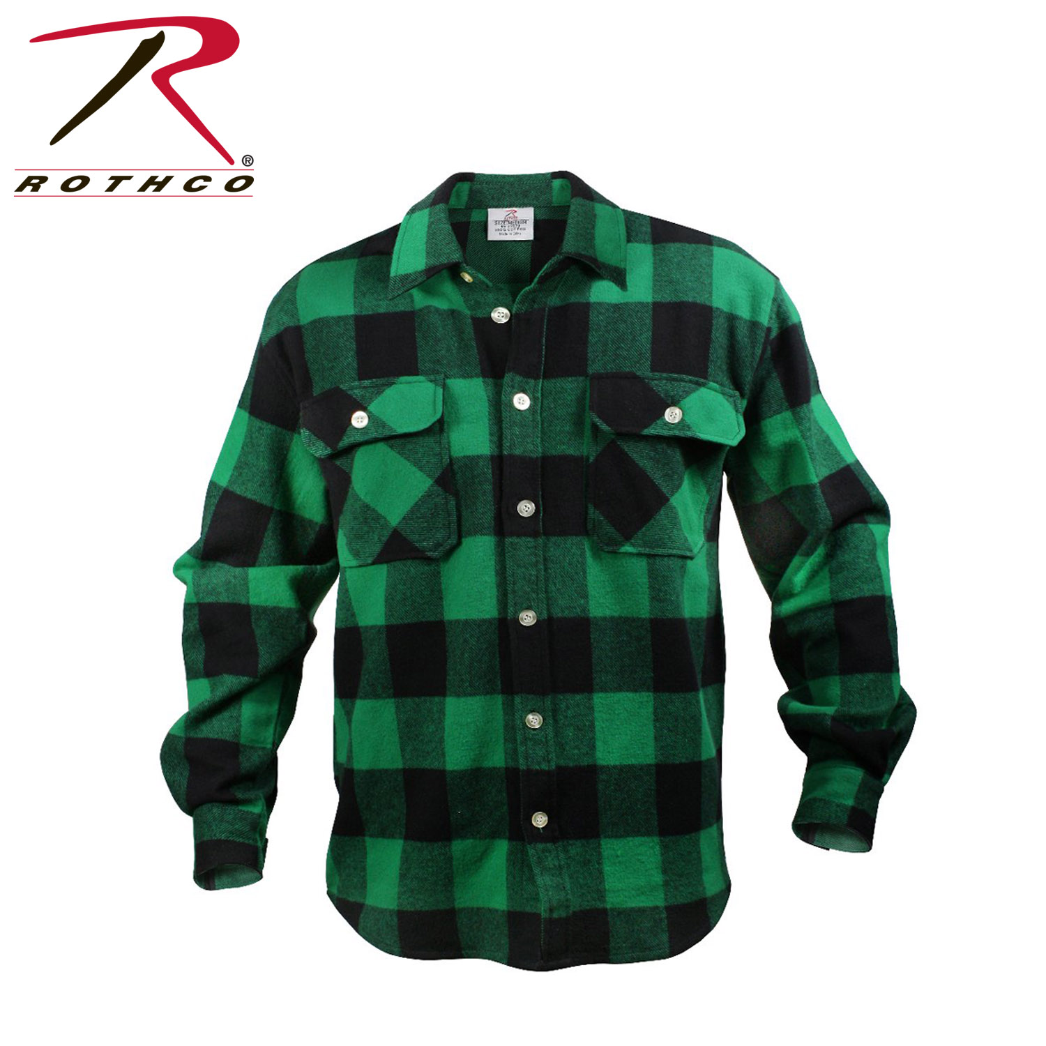 Rothco Extra Heavyweight Buffalo Plaid Flannel Shirts Ebay